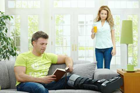Как снять отек после перелома лодыжки в домашних условиях
